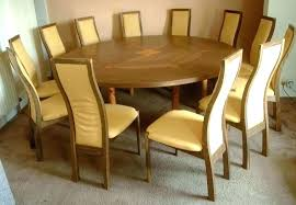 12 Dining Table Chair Room Round Tables For Brown Circular That