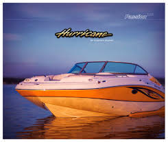 Hurricane Fun Deck 201 by Hurricane 2008 Brochure Hurricane Pdf Catalogues