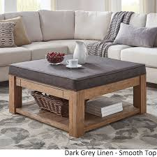 Living Room Table Sets With Storage by Best 25 Square Ottoman Coffee Table Ideas On Pinterest Tufted