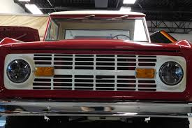 1966-1977 Ford Bronco LED Projector Headlights-Broncograveyard.com