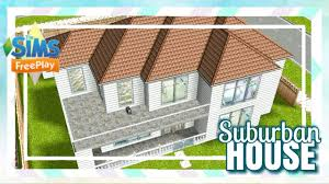 Sims Freeplay Second Floor by Sims Freeplay Suburban House Original Build Youtube