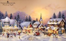 Thomas Kinkade Christmas Tree Village by Start A Holiday Tradition With Unique Christmas Decorations