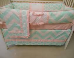 blue and grey baby bedding