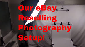Back Jack Chair Ebay by Our Ebay Business Photography Setup Youtube