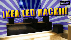 Under Cabinet Strip Lighting Ikea by Motion Activated Led Lighting Tutorial Ikea Hack Youtube