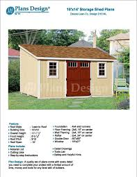 8x10 Shed Plans Materials List by Cool Flat Roof Shed Plans Pdf Shed Cam