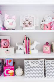 Merchandising Your Baby Girl's Nursery Shelves - Fashionable ... Bedroom Cute Pattern John Deere Baby Bedding For Your Cribs Monique Lhuillier Tells Us About Her Whimsical New Pottery Barn Girl Nursery Ideas Intended Pink Gray Refunk My Junk Decorating Attractive Image Of Room Decor Kids Theme Kids Room 16 Adorable Girls Beautiful Pinterest Recipes Yellow Colors 114 Best Nursery Sweet Baby Images On Boy Features Sets For Boys And Girls Barn Larkin Crib Swan Rocker Tan White