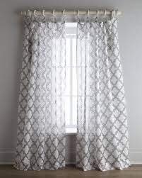Moroccan Tile Curtain Panels by Moroccan Tile Window Panels Look 4 Less And Steals And Deals