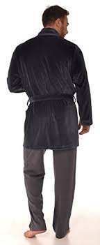 robe de chambre velours courte robe de chambre pour hommes re 105 velours b01klny5pq