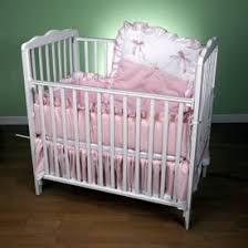 Pretty Pique Porta Crib Set by Baby Doll