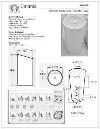18 Inch Pedestal Sink by Pedestal Sink Measurements Moncler Factory Outlets Com