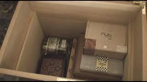 Cigar Cabinet Humidor Uk by Medici 500 Cigar Foot Locker Humidor Youtube