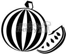 「watermelon clipart black and white」的圖片搜尋結果