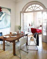 Vintage Modern Dining Room Endearing Decorating Ideas Intended For Attractive