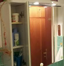 allibert badezimmerschrank 3 türig