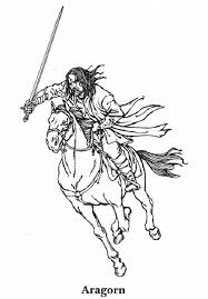 Lord Of The Rings Coloring Pages 6