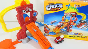 99 Chuck The Talking Truck Tonka Friends Fire Funhouse With Boomer The Fire