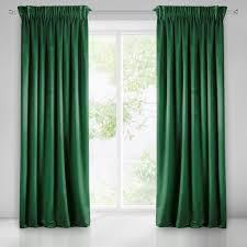 vorhang dunkel grün 140x270 kräuselband