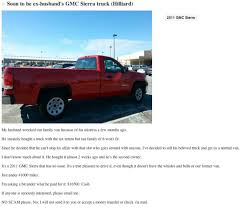 100 Truck For Sell Ohio Woman S Unfaithful Husbands In Funny Craigslist Ad