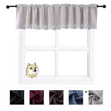 Amazon.com: HOLKING Beige Bathroom Blackout Curtain Valances Decor ... Bathroom Simple Valance Home Design Image Marvelous Winsome Window Valances Diy Living Curtains Blackout Enchanting Ideas Guest Curtain Elegant 25 Cool Shower With 29 Most Awesome Treatments Small Bedroom Balloon For Windows White Simple Valance Ideas Comfort Hgtv Inspirational With Half Bath Bathrooms Window Treatments