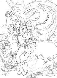 Running Scene Tangled Coloring Pages