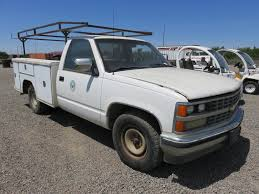 100 Pickup Truck Utility Beds 1988 Chevy 34 Ton With Bed