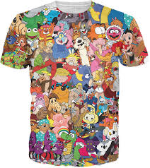 Berenstain Bears Christmas Tree Dvd by I Love The 80 U0027s All Over Print T Shirt Tee Shirt Muppets Muppet