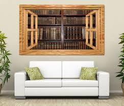 3d wandtattoo alte bücher buch regal antik bibliothek selbstklebend wandbild sticker wohnzimmer wand aufkleber 11k903 3dwandtattoo24 de