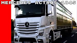 100 Mercedes Semi Truck Actros 1845 YouTube
