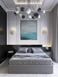 bedroom bedrooms with grey walls and brown furniture light