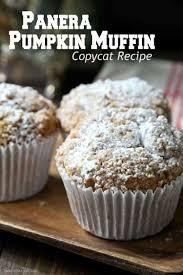 Panera Pumpkin Bagel by Panera Pumpkin Muffin Recipe Snappy Gourmet