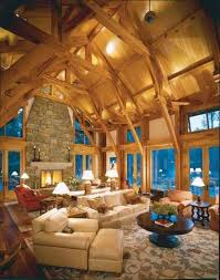 Mh23 Log Cabin Interior Design 47 Decor Ideas
