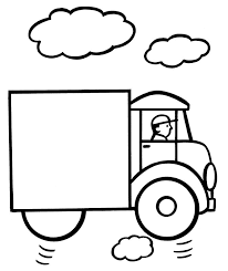 Truck More Coloring Pages