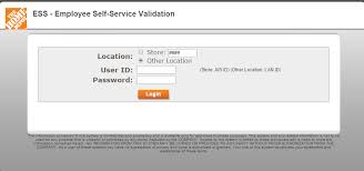 Home Depot Employee Self Service View Weekly Time Detail Home