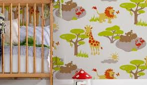papier peint chambre b b mixte papier peint chambre bebe ukbix pour fille newsindo co
