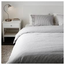 NYPONROS Quilt cover and 4 pillowcases Grey 200x200 50x80 cm IKEA