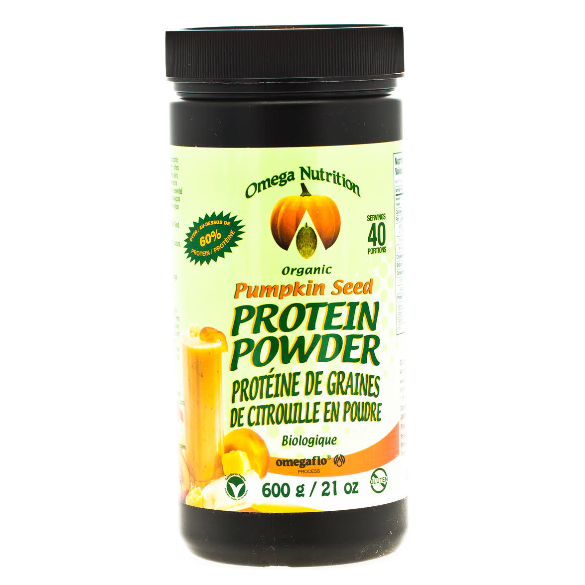 Omega Nutrition Pumpkin Seed Protein Powder 600g