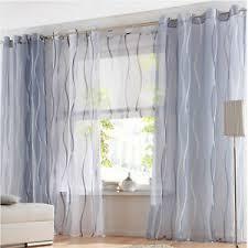 gestreifte gardinen stores fürs wohnzimmer günstig kaufen ebay