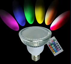 par38 rgb led light bulb 27w pro lighting inc