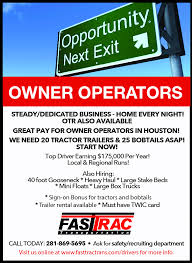 Fast Trac - Owner Operators Neededt Tax Tips For Truck Drivers How Do Ownoperators File Taxes Photo Gallery Working Show Trucks And More From Superrigs Trucking Industry In The United States Wikipedia Midwest Expeditingcom Expited Freight Cargo Vans Straight Rosemount Mn Driver Recruiter Wanted Employment Contract Agreement Template Beautiful Rental What You Should Know Before Purchasing An Expedite Straight Owner Operator Box Jobs Fresh 16 Unique Free Sample Schneider Driving Find Truck Driving Jobs 2017 Freightliner M2 112 Bolt Custom Sleeper Tour If Want To Be A Cross Country Trucker Best Image Kusaboshicom