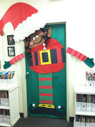Christmas Classroom Door Decorations Elf by 53 Best Office Christmas Decoration Ideas Images On Pinterest