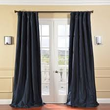 Heavy Curtain Fabric Crossword by Best 25 Navy Blue Curtains Ideas On Pinterest Blue Curtains