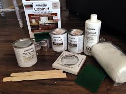 Rustoleum Cabinet Painting Kit by Rust Oleum Cabinet Transformations In Kona House To Home