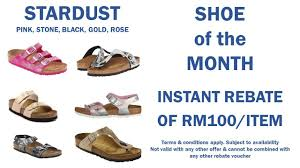 Birkenstock Stardust Colour Sandal Instant Rebate RM100 ... Canada Computer Coupons Hangover Stopper Discount Code The Parking Spot Ewr Mcclellan Coupon Dbal Max Redbus Travel Waterville Gulf Shores 10 Off Birkenstockcom Promo Codes October 2019 Coupon Yoga Birkenstock Usa Online Aerie In Store Printable Camelback Lodge Promo Awesome Books Blu Emu Windows 8 Codes Thai Spice Irvine Coinental Cookies Blue Nile 20 Bettys Free Delivery Syracuse Book Bealls Coupons Extra 40 Off Everything At Ditto Born A Bad Seed Vital Proteins