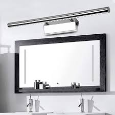 spiegellen led spiegelleuchte mit schalter 7w 55cm neutralweiß 4500k 490lm ersetzt 20w leuchtstoffröhre badleuchte schrankleuchte wandle