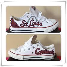 Adult St. Louis Cardinals Converse ( Use Coupon Code