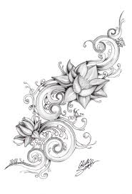 Remember Its Cool To Like This However Since So Many Do It Is Bound Lotus Flower DrawingsFlower Tattoo