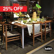 Habitt Dining Table Sale Upto 30 Off