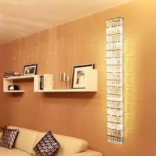 wohnzimmer wand lichter led wand leuchte moderne kristall wand len flur lange wand le schlafzimmer kristall leuchter beleuchtung dekor