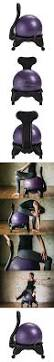 Gaiam Classic Balance Ball Chair Charcoal by Backless Exercise Ball Chair Awesome Isokinetics Inc Adjustable